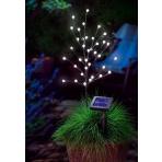Solárny LED stromček – guličky