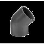 Koleno 45° 2 x vývod - lepenie