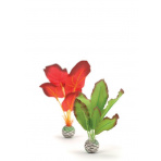 biOrb silk Plant set zelená a červená 20 cm
