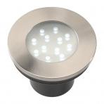 Hibria samostatné svietidlo, nerez, d=90mm LED 2W IP68