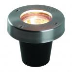 Umbra samostatné svietidlo, nerez, d=70mm, LED MR16 3W teplá biela