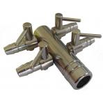 Štvorcestný ventil 9 mm