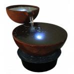 Calice Bassin Corten 120 - fontána exteriér