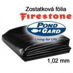 3 x 2,8 EPDM jazierková fólia 1,02mm