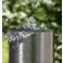 Buffalo 10 - nerezová záhradná fontána