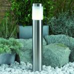 Albus samostatné svietidlo, nerez, LED 2W teplá biela