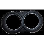 Zátka 16 mm - double ring (dvojkrúžok ukončovací)