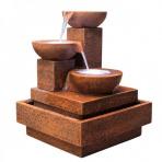 Cascade Corten - fontána interiér/exteriér