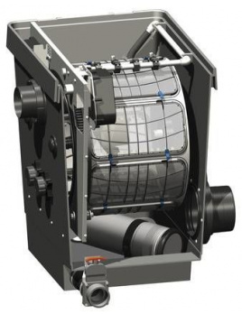 Oase ProfiClear Premium drum filter pump-fed - tlakové zapojenie