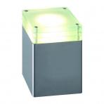 Lilium samostatné svietidlo, strieborné halogén 20W