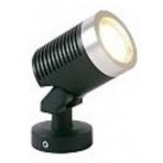 Arcus samostatné svietidlo, čierne, MR16 5W teplá biela