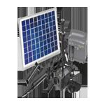 Solárna technológia do jazierka