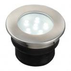 Brevus samostatné svietidlo, nerez d=60mm LED 1W IP68