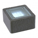 Xerus samostatné svietidlo, antracit, LED 2W biela IP68