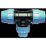 T-kus 40x25x40 redukovaný na PE potrubie