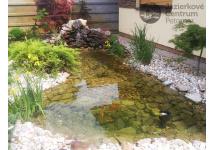 Záhradné jazierko 4 m3