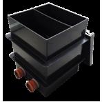 Čerpadlová šachta (mokrá) pre dve čerpadlá 60 x 60 cm (2 vstupy)