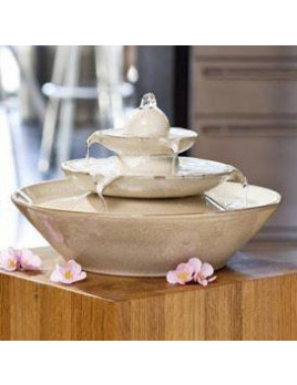 Pisa Cream - Interiérová fontána