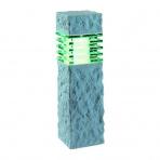 Nepos samostatné svietidlo, imitácia kameňa,LED MR16 3W teplá biela