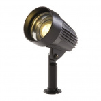 Corvus samostatné svietidlo, čierne LED 4W