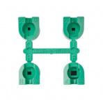Sada trysiek MPR-30 (zelené) 90°,120°, 180°, 360° 1,7-4,5bar 8,8-9,1m