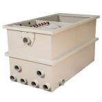 HP CL50 - bubnová filtrácia + bio komora gravitačná/tlaková