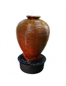 Cyprus Jar Corten 120 - fontána interiér/exteriér