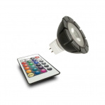 RGB Power LED 12V 3W + dialkové ovládanie