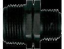 PP tvarovky plastové čierne