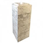 PILLAR biela - vodná stena exteriér / interiér