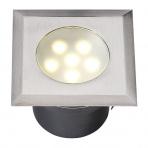 Leda samostatné svietidlo, nerez 316, d=60mm LED 1W teplá biela IP68