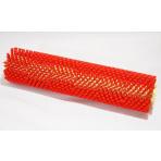 Motorizovaná rotačná čistiaca kefa, červená