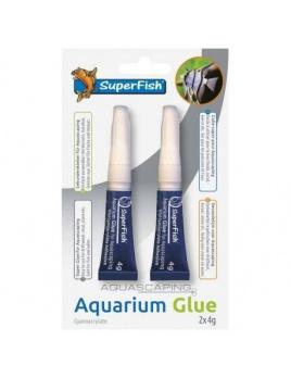 SF Aquarium Glue Blister 2 pcs - lepidlo na dekorácie