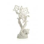 biOrb Fan Coral Ornament biely 26 cm