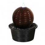 ASAKI BOULE 65 Corten - sklobetónová fontána exteriér