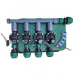 Zavlažovacia sústava uzla vodného zdroja bez filtrácie