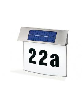 Solárne osvetlenie domového čísla