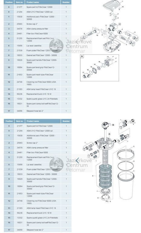Oase FiltoClear Set 12000 + 1kg BKF ZDARMA