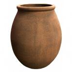 Persia Jar Corten - sklobetónová fontána exteriér