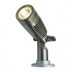 Minus samostatné svietidlo, gun metal, LED 2W