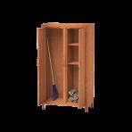 Úložný priestor na drevo s dverami S4