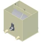 Ultra Sieve Extra Wide 3 vstupy štrbinový filter