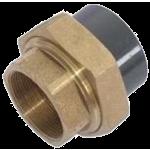 Šróbenie PVC (lepenie) / mosadz (vnútorný závit)