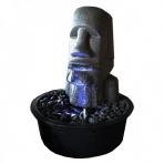MOAI 60 - sklobetónová fontána exteriér