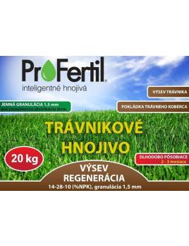 20kg ProFertil Výsev a regenerácia 1,5mm, 2-3 mesačné