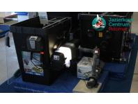 Filtrácia Biotec Premium napojená na Uv lampu Bitron a Oase Dry čerpadlo