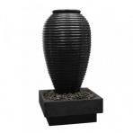 Asaki Jar Bronze s podstavcom - sklobetónová fontána