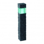 Kolossos samostatné svietidlo, antracit LED 2W biela