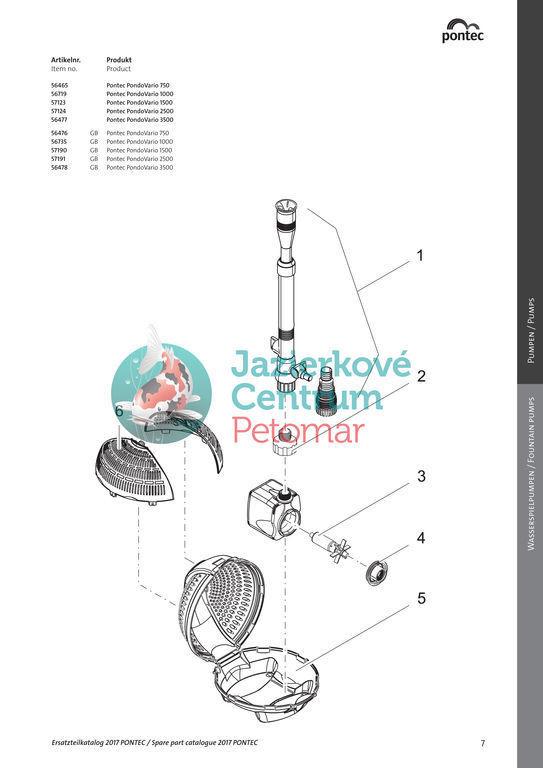 PondoVario 1000 + PumpCleaner čistič čerpadiel