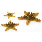 biOrb Sea Stars set žltá 10, 8 a 5 cm